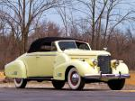 Cadillac V16 Convertible Coupe by Fleetwood 1938 года